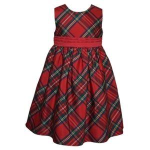 Blueberi Boulevard Plaid Dress Girls Size 4